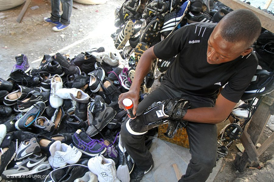 Shoes in Haiti