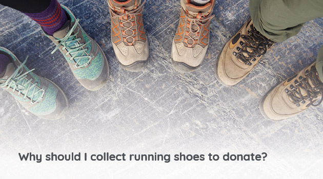 Donating gently worn, used, and new running shoes to be repurposed will benefit your organization, its community, and the world.