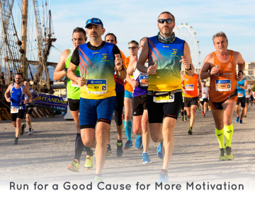 Love to run? Check out some opportunities to run for a good cause.