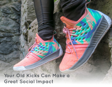 Learn some of the ways in which repurposing running shoes can benefit your organization and others at the same time.