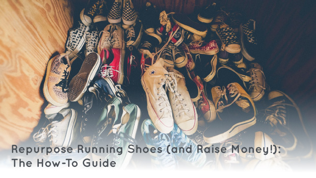 Learn how your organization can raise money and help others at the same time by repurposing donated running shoes.