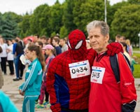 Encourage race participants to dress up as their favorite characters, heroes, or role models with this 5K fundraiser idea.