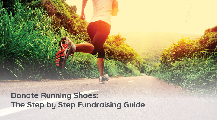 You can collect your running shoes and sneakers at your next 5K fundraiser idea to support your cause.