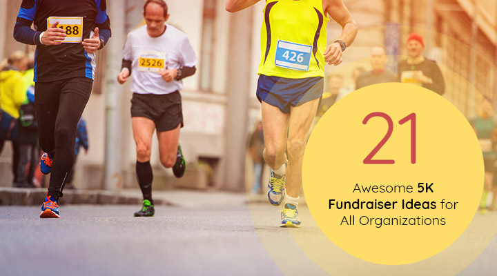 Incorporate one of these awesome 5K fundraiser ideas into your next race to take your 5K to the next level!