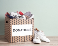 Donate your unwanted running shoes to an eco-friendly donation program!