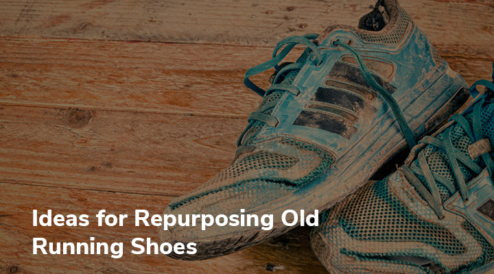 Check out these eco-friendly ideas for repurposing your old running shoes that you can do in your own home!