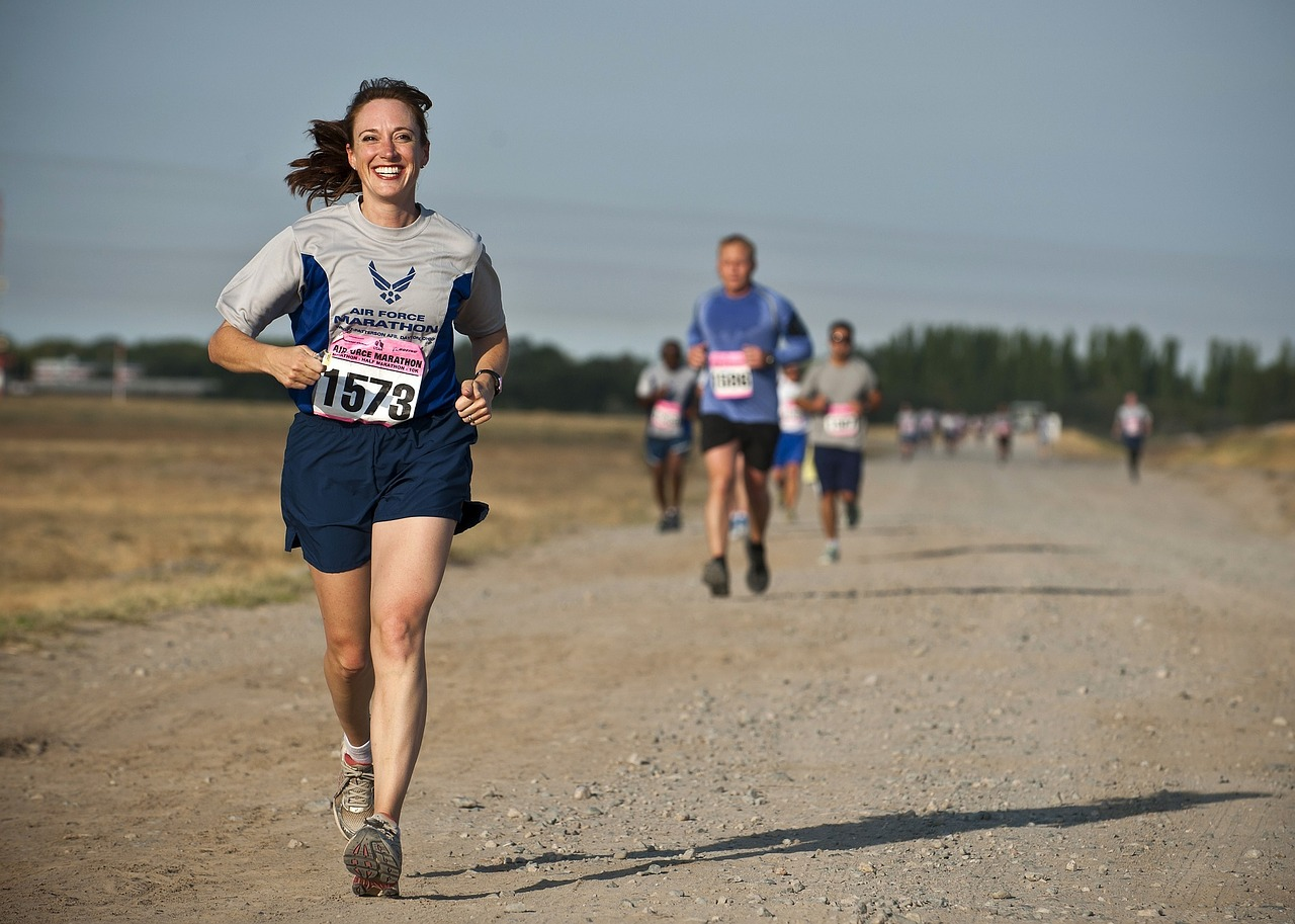 Run for a Good Cause for More Motivation
