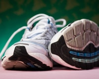 Encourage others to recycle running shoes by setting up a donation bin at the community center.]