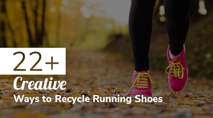 Check out these creative and environmentally-friendly ideas to recycle your running shoes.