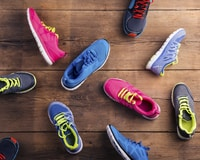 When you're ready to replace your sneakers, recycle your running shoes by trading them with your friends.