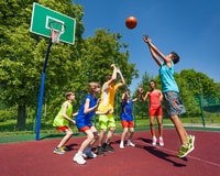 Host a kids' camp as one of your next fundraising ideas for youth sports teams.