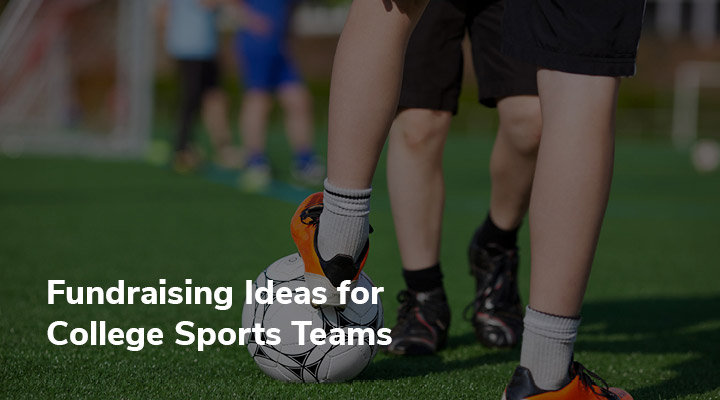 Consider these fundraising ideas for college sports teams.