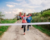A race can help boost funds and membership when you're learning how to start a running club.