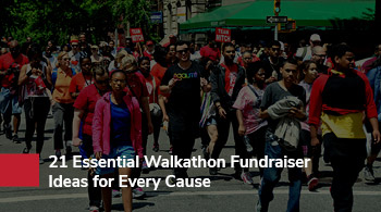 Consider hosting a walkathon to produce funds to start a running club.