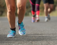 When starting a running club, try a chain run to keep runners motivated.
